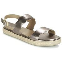 Chaussures Femme Sandales et Nu-pieds Betty London IKARO Argenté