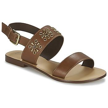 Chaussures Femme Sandales et Nu-pieds Betty London IKIMI Marron