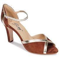 Chaussures Femme Sandales et Nu-pieds Betty London IFLORE Marron