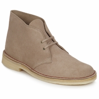 Chaussures Homme Boots Clarks DESERT BOOT Sable