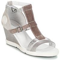 Chaussures Femme Sandales et Nu-pieds Pataugas WAMI-F2B Gris