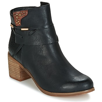 Chaussures Femme Bottines Elue par nous BEGINE Noir
