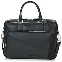 Sacs Homme Porte-Documents / Serviettes Tommy Hilfiger TH DIAGONAL COMPUTER BG Noir