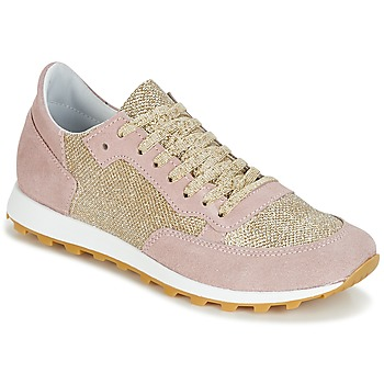 Chaussures Femme Baskets basses Yurban ICROUTA Rose/or