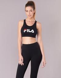 Vêtements Femme Brassières de sport Fila OTHER CROP TOP Noir