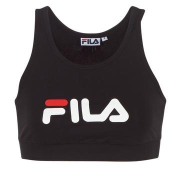 Vêtements Femme T-shirts manches courtes Fila OTHER CROP TOP Noir