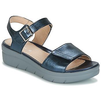 Chaussures Femme Sandales et Nu-pieds Stonefly AQUA III 2 LAMINATED Bleu