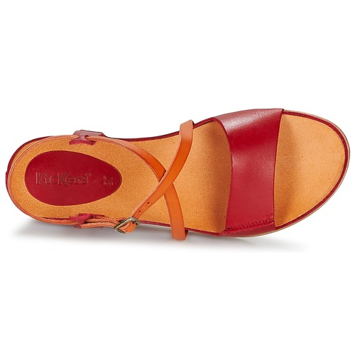 Kickers TAHITI Rouge / orange