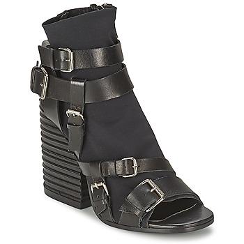 Chaussures Femme Bottines Strategia BUGNARA Noir