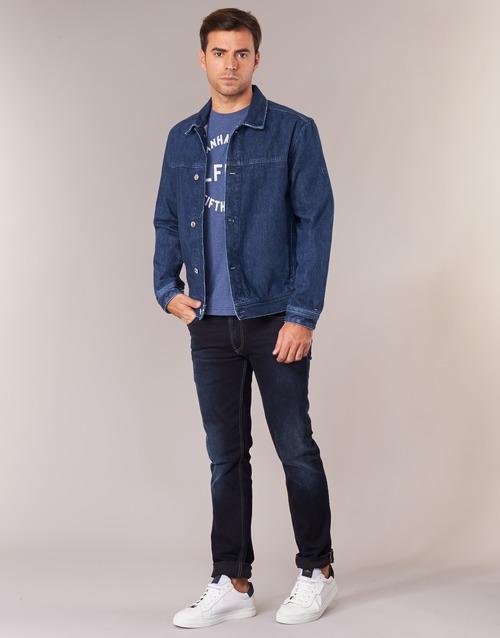 Jkt Medium Tommy Jeans Street Bleu Tjm Trucker yb7gYfv6