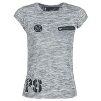 Vêtements Femme T-shirts manches courtes Philipp Plein Sport SITTIN OVER HERE Gris