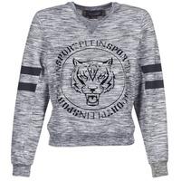 Vêtements Femme Sweats Philipp Plein Sport LET YOUR MIND FREE Gris