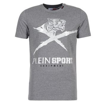 Vêtements Homme T-shirts manches courtes Philipp Plein Sport BORIS Gris / Argenté