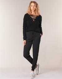 Vêtements Femme Pantalons fluides / Sarouels Kaporal SOFI Noir
