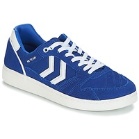 Chaussures Baskets basses Hummel HB TEAM SUEDE Bleu