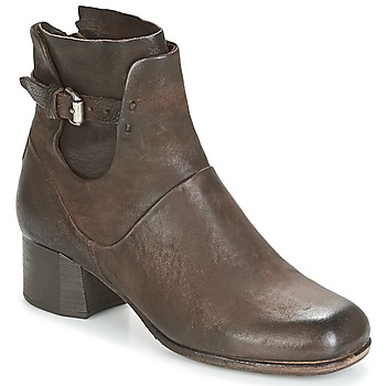 Chaussures Femme Boots Airstep / A.S.98 ESTE Marron Choco