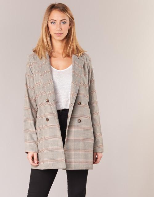 Vêtements Femme Vestes / Blazers Betty London VESTON Beige