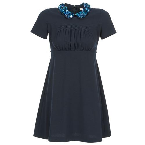Vêtements Femme Robes courtes Manoush COMMUNION Bleu