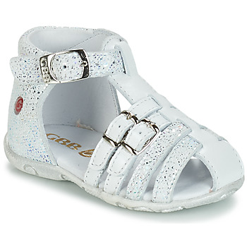 Chaussures Fille Sandales et Nu-pieds GBB SAMIRA Blanc