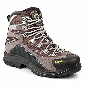 Chaussures-de-randonnee Asolo DRIFTER Gris / Marron