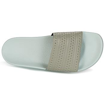 adidas Originals ADILETTE Beige / Vert