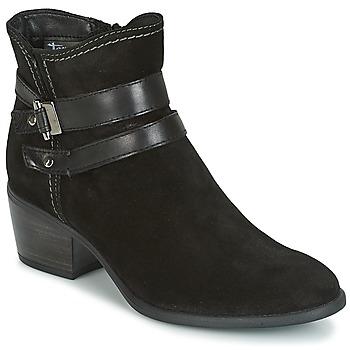 Chaussures Femme Bottines Tamaris ABERBER Noir