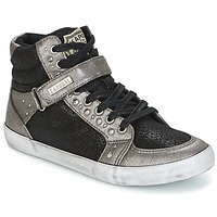 Chaussures Femme Baskets montantes Kaporal SNATCHY Noir
