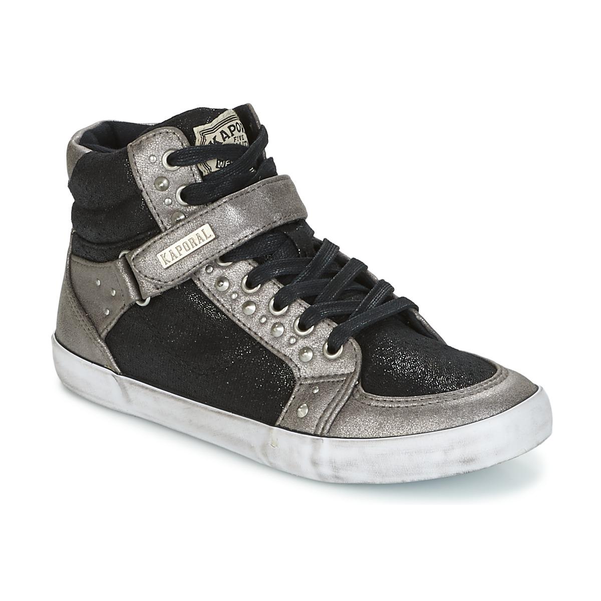 kaporal snatchy noir chaussure pas cher avec chaussures basket montante femme 45 49. Black Bedroom Furniture Sets. Home Design Ideas