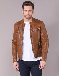Vêtements Homme Vestes en cuir / synthétiques Redskins CROSS Cognac