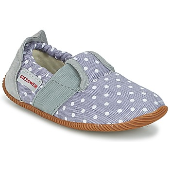 Chaussures Fille Chaussons Giesswein SILZ - SLIM FIT Gris