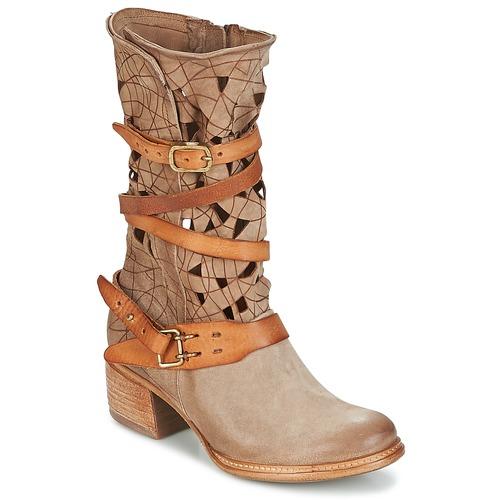 Chaussures Femme Boots Airstep / A.S.98 CRUZ Beige