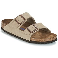 Chaussures Femme Mules Birkenstock ARIZONA SFB Taupe