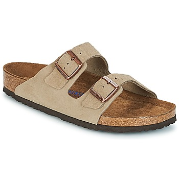 Chaussures Homme Mules Birkenstock ARIZONA SFB Taupe