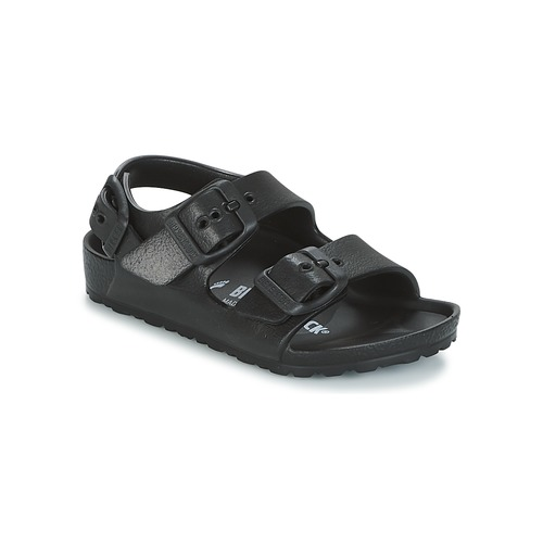 Chaussures Garçon Sandales et Nu-pieds Birkenstock MILANO-EVA Noir