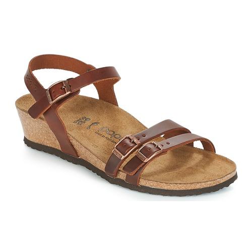 Chaussures Femme Sandales et Nu-pieds Papillio LANA Cognac