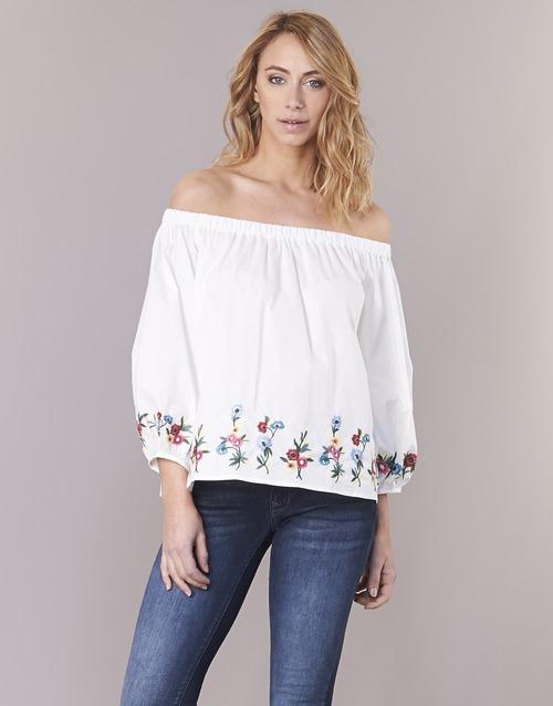 Vêtements Femme Tops / Blouses Moony Mood IFITI Blanc