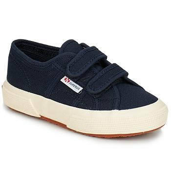 Chaussures Enfant Baskets basses Superga 2750 STRAP Marine