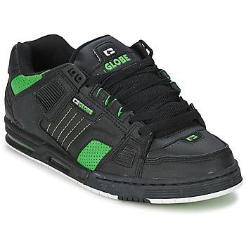 Chaussures Homme Chaussures de Skate Globe SABRE Noir / Vert