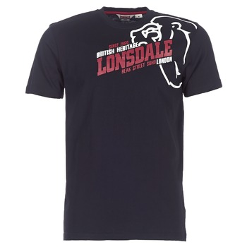 Vêtements Homme T-shirts manches courtes Lonsdale WALKLEY Noir