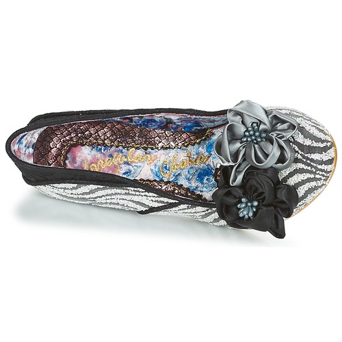 Irregular Choice LITTLE PEACHES Noir / Blanc
