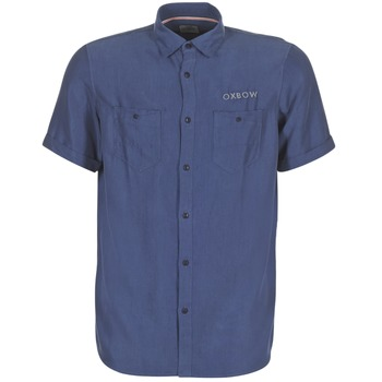 Vêtements Homme Chemises manches courtes Oxbow K1CAMPI Marine