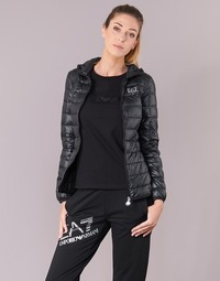 Vêtements Femme Doudounes Emporio Armani EA7 TRAIN CORE LADY Noir