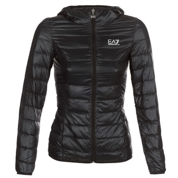 Vêtements Femme Doudounes Emporio Armani EA7 TRAIN CORE LADY W LT DOWN JACKET HO Noir