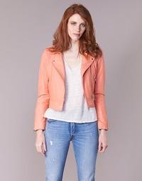 Vêtements Femme Vestes en cuir / synthétiques Oakwood YOKO Corail