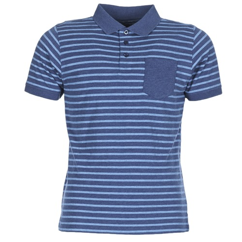 Vêtements Homme Polos manches courtes Casual Attitude INUTIOLE Bleu / Blanc