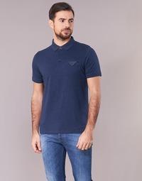 Vêtements Homme Polos manches courtes Casual Attitude ITATATO Bleu