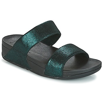 Chaussures Femme Mules FitFlop SLIDE Vert