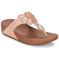 Chaussures Femme Tongs FitFlop HONEYBEE JEWELLED TOE Nude