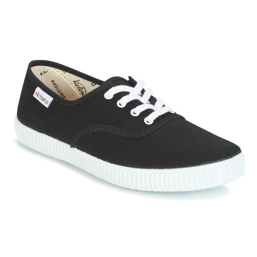 Chaussures Baskets basses Victoria INGLESA LONA Noir