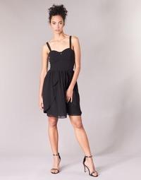 Vêtements Femme Robes courtes Naf Naf LENY R1 Noir